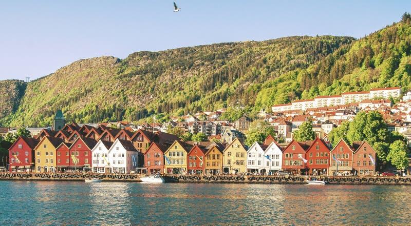 Bergen, Norvège images stock