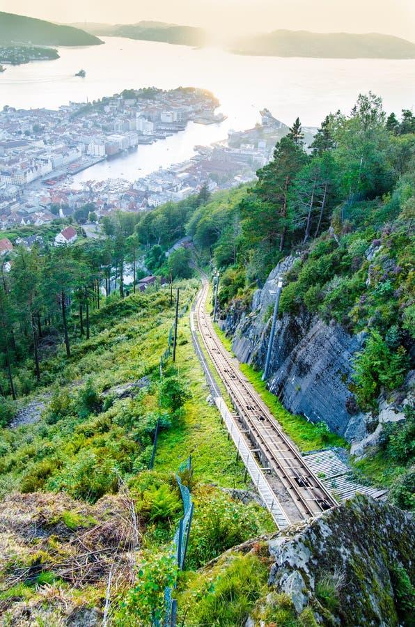 Bergen, Norvegia immagine stock