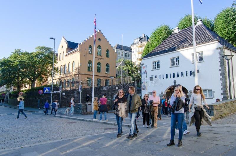 Bergen, Norvegia immagini stock