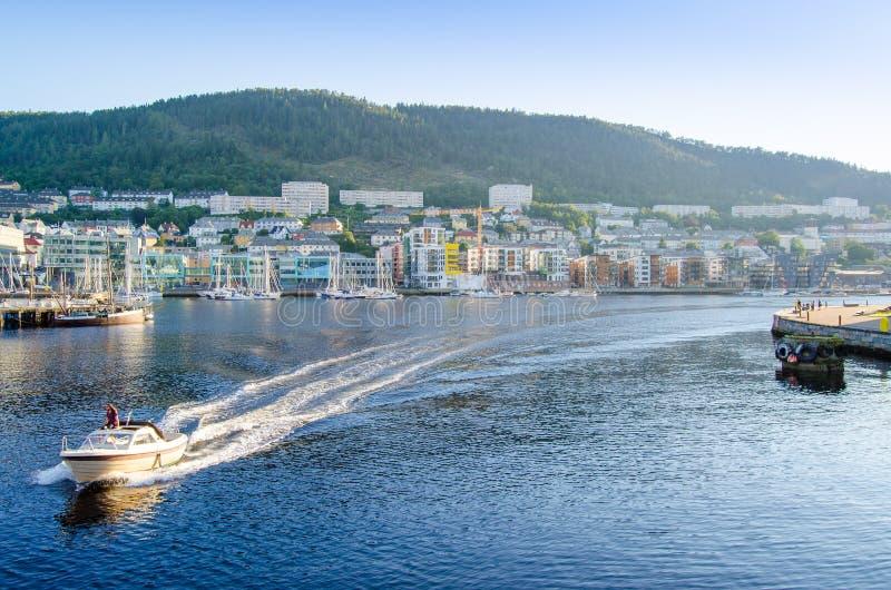 bergen Norway fotografia royalty free