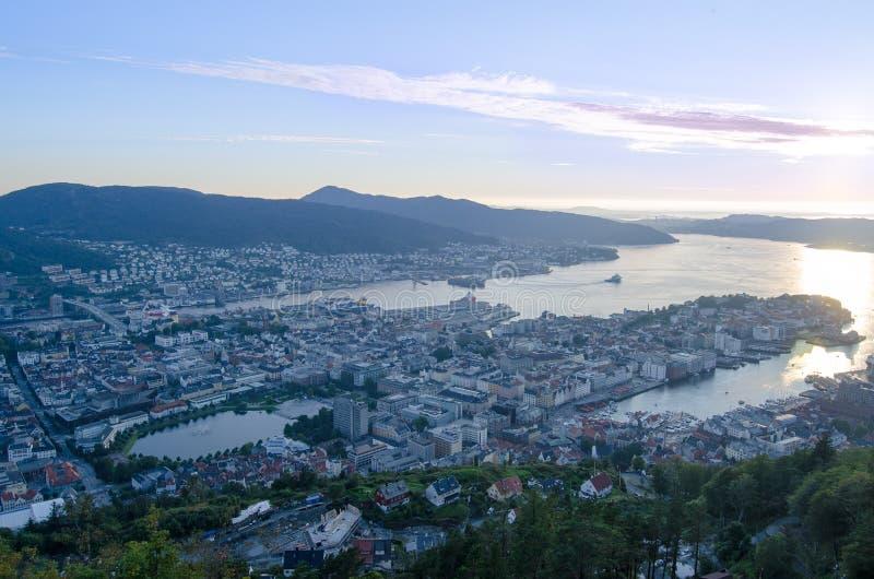 bergen Norway zdjęcie royalty free