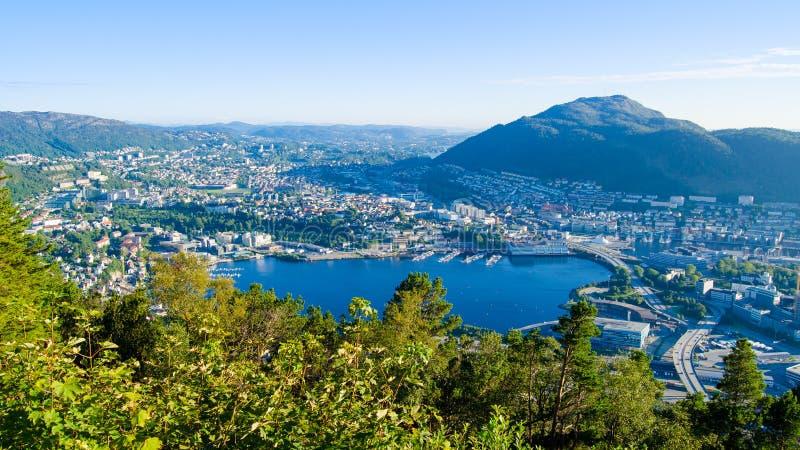 bergen Norway obraz royalty free