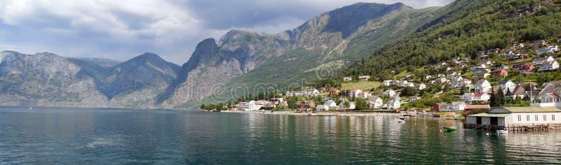 Bergen Norway - Naerofyord royaltyfri foto