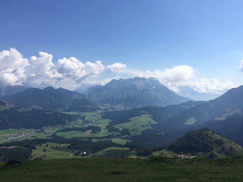 Bergen Oostenrijk stock fotografie