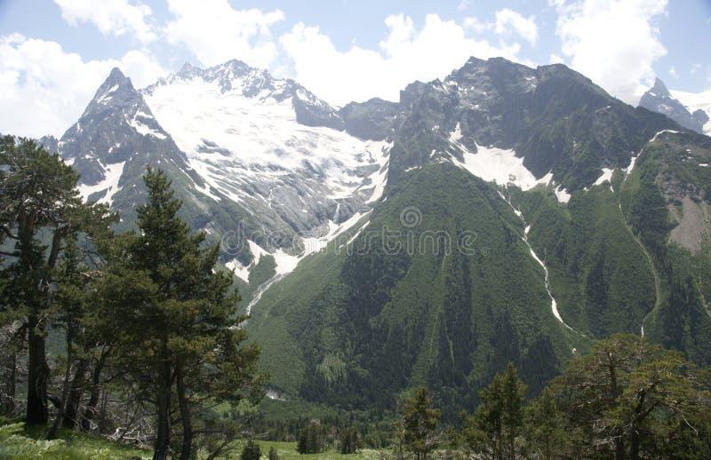 In bergen op Dombai royalty-vrije stock foto's