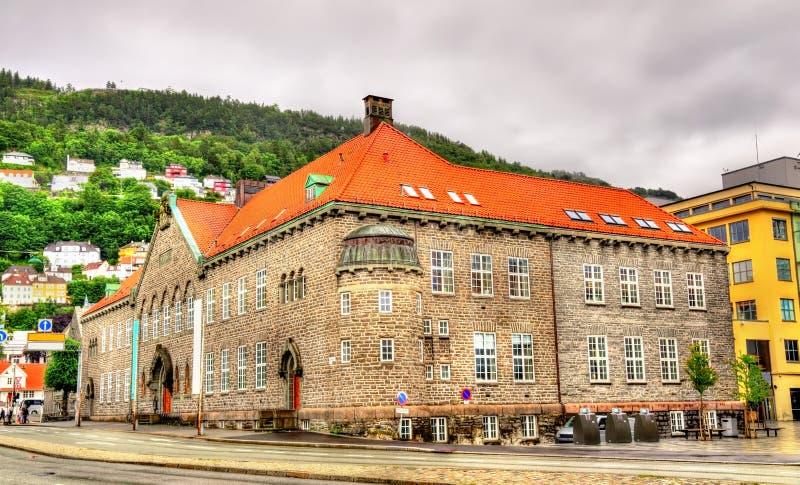 Bergen Public Library - Norwegen stockfotos