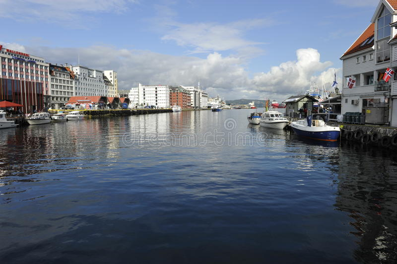 Bergen schronienie, Norwegia zdjęcie royalty free