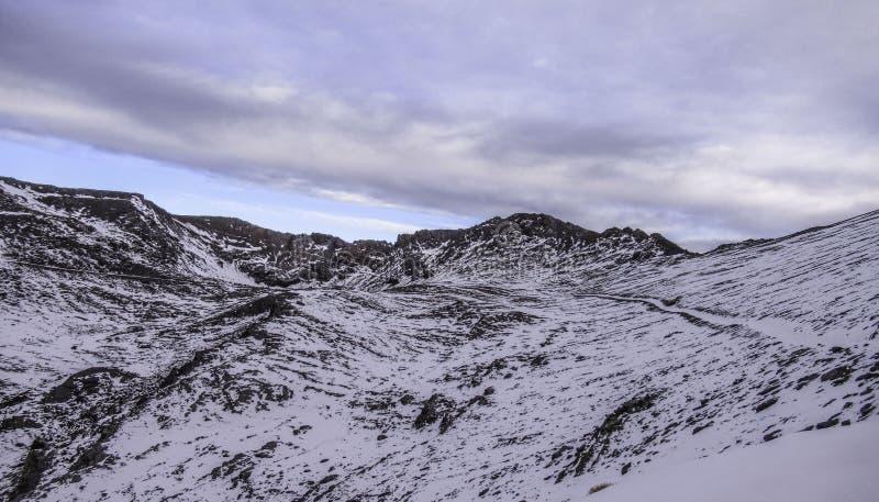 Bergen Sierra Nevada, Andalusia, Spanje royalty-vrije stock afbeeldingen
