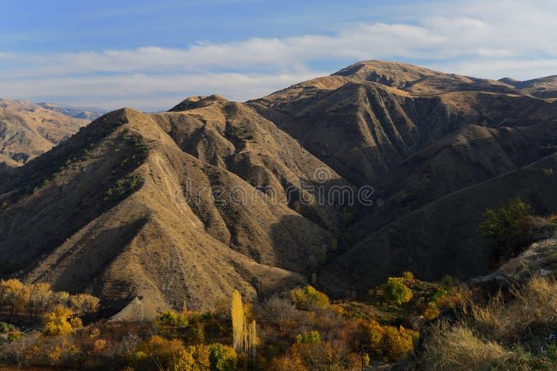 Bergen van Armenië stock foto