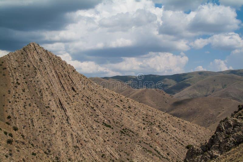 Bergen van Armenië royalty-vrije stock foto's