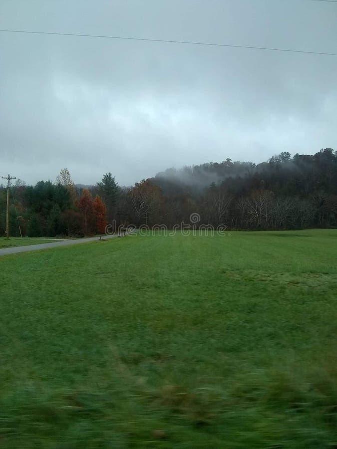 Bergen van owsleyprovincie Kentucky stock afbeeldingen