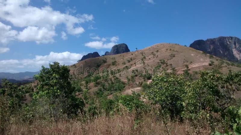Bergen van San Juan DE los Morros, Venezuela royalty-vrije stock afbeeldingen