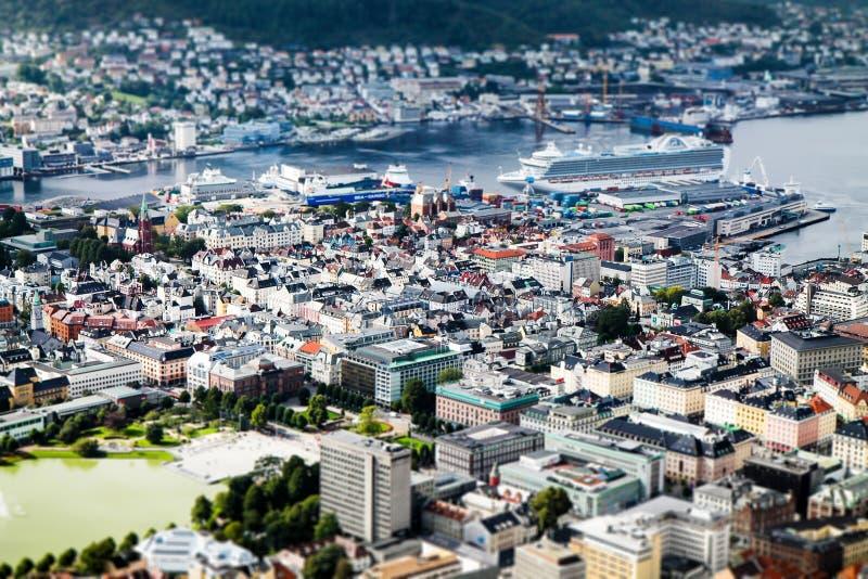 Bergen w nutshell fotografia royalty free