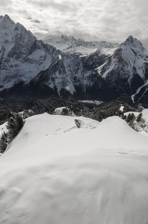 Bergfjällängar i Italien fotografering för bildbyråer