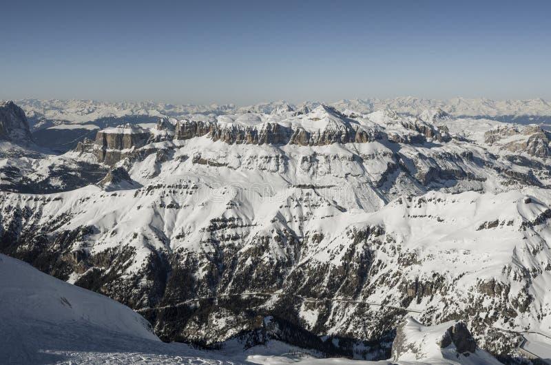 Bergfjällängar i Italien arkivbilder