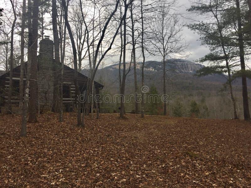 Berghütte stockfoto