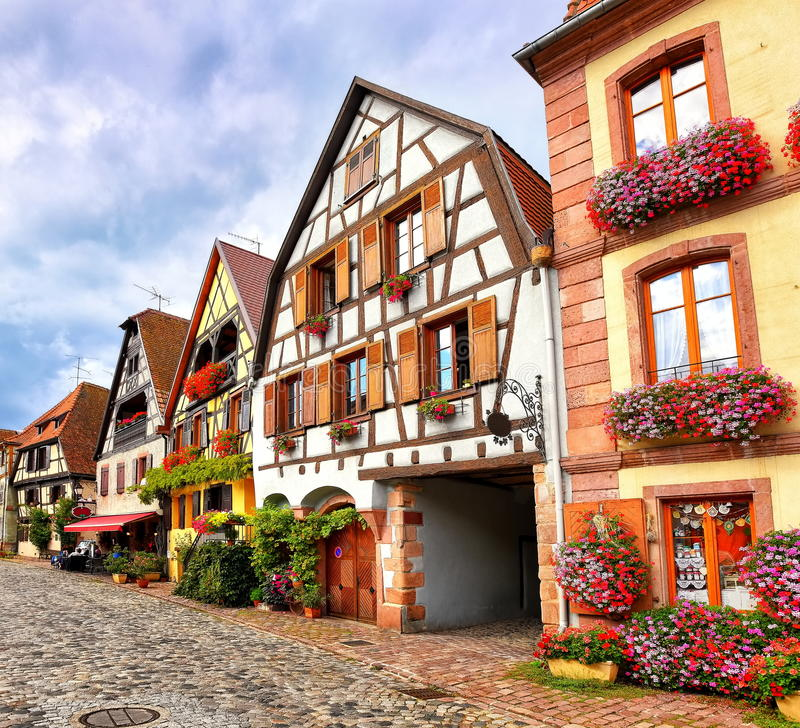 Free Bergheim, Alsace, France Stock Image - 60019151