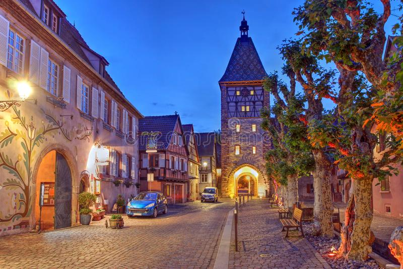 Bergheim, Alsace, France royalty free stock images