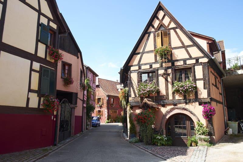 Bergheim Francia immagine stock libera da diritti