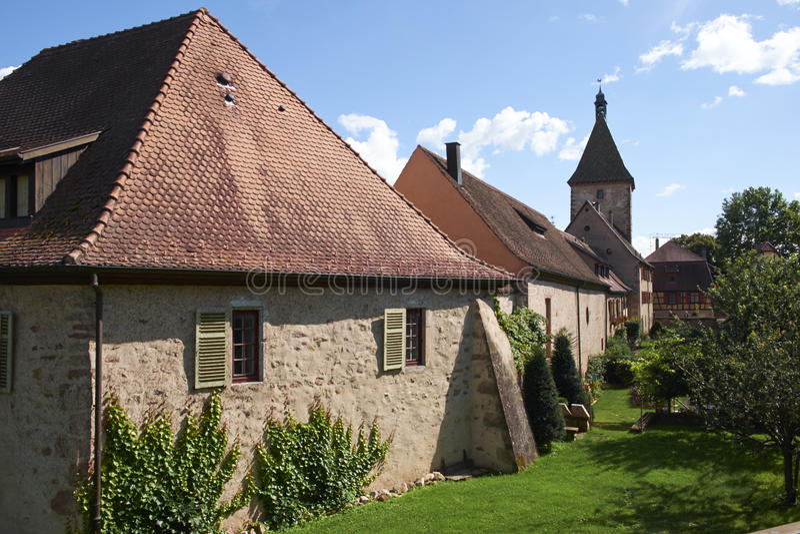 Bergheim Francia fotografie stock