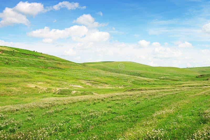 Bergiges Gelände stockfotos