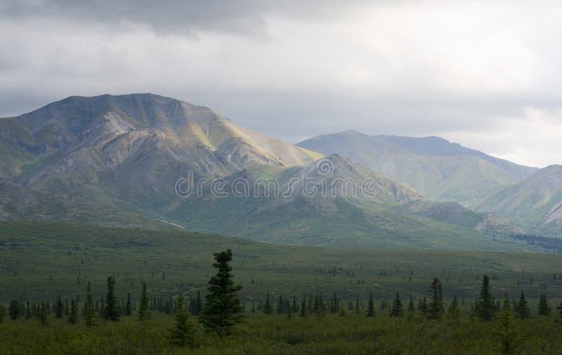 Bergketen royalty-vrije stock afbeeldingen