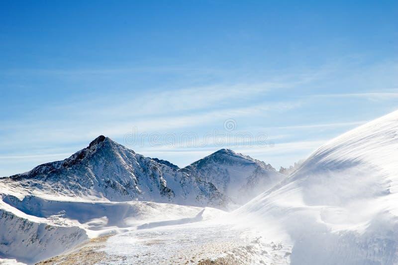 Bergketen 4 royalty-vrije stock foto's