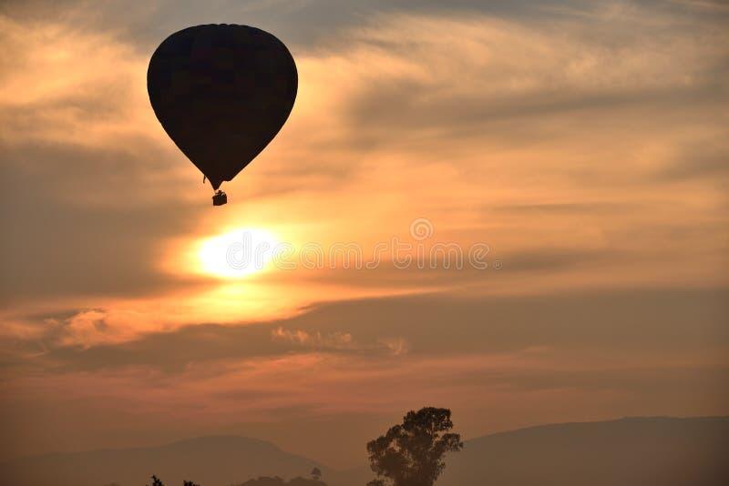 Bergketenballons stock afbeelding