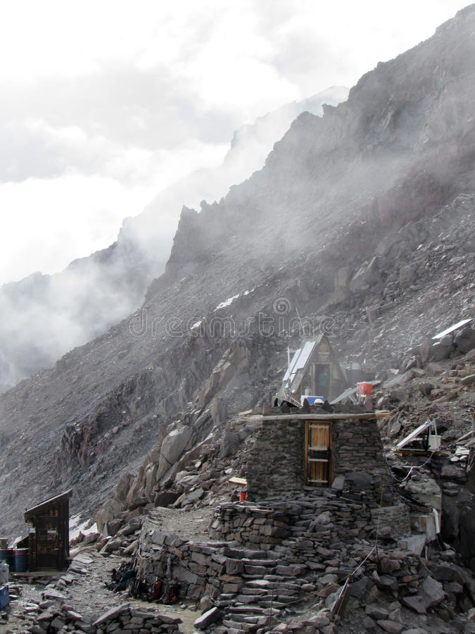 Bergklappen stock afbeelding