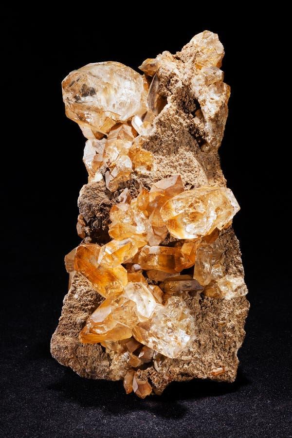 Bergkristall royaltyfri bild
