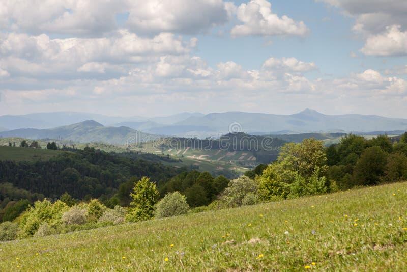 Berglandschap, schoonheid van aard royalty-vrije stock fotografie