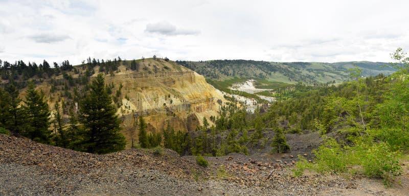 Berglandschap van Wyoming royalty-vrije stock afbeeldingen