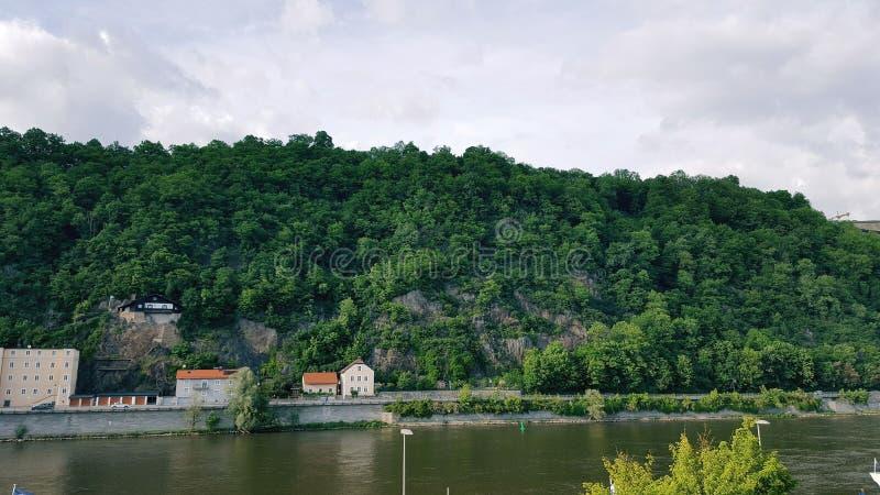 Berglandschappen royalty-vrije stock foto