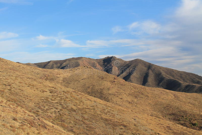 Berglandskap royaltyfria bilder