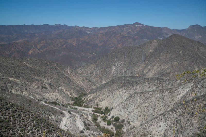 Bergmening, Oaxaca stock foto