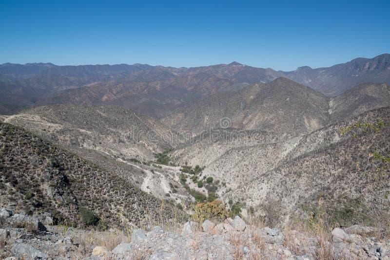 Bergmening, Oaxaca royalty-vrije stock fotografie