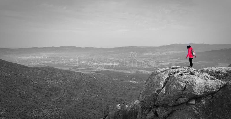 Bergnatur arkivfoton
