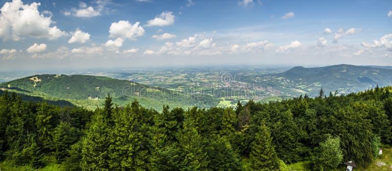 Bergpanorama lizenzfreies stockfoto