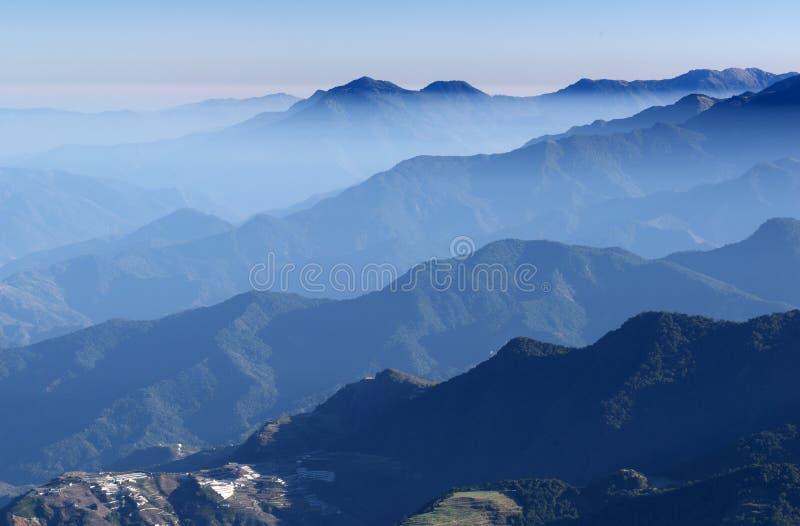 bergplats royaltyfri foto