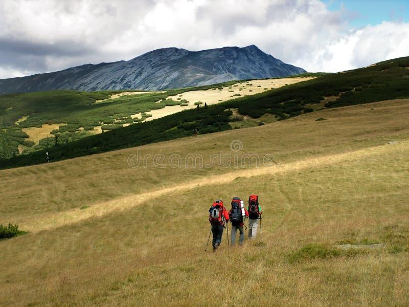 bergromania lopp royaltyfria foton