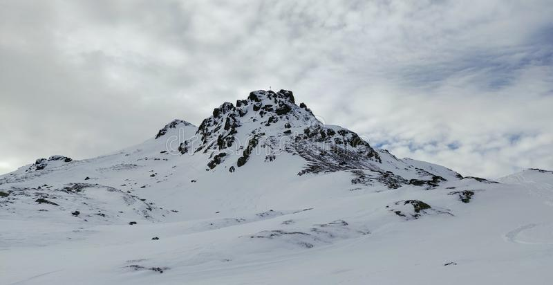 Bergsbestigning i Tirol royaltyfri foto