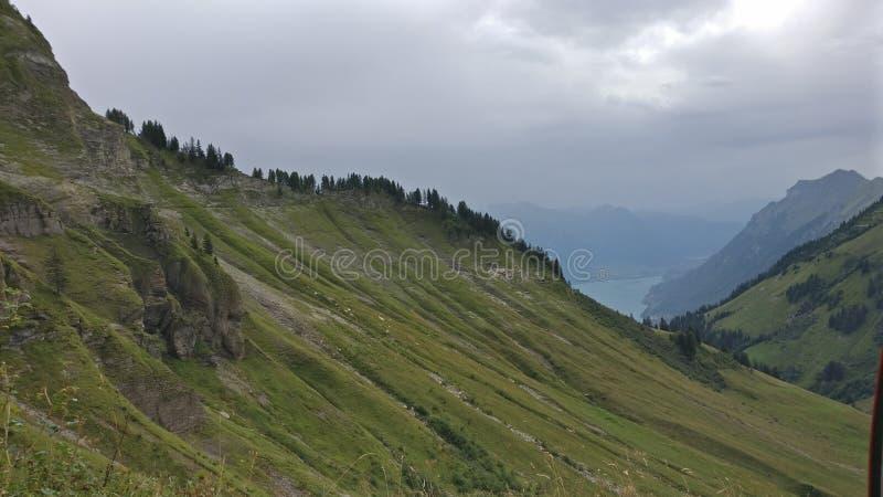 Bergscapes arkivbilder
