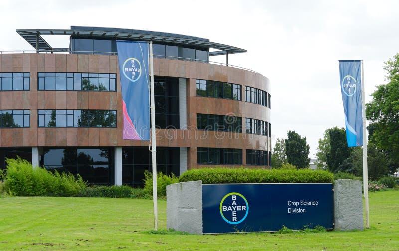 Bayer crop science division in Bergschenhoek, the Netherlands. Bergschenhoek, the Netherlands. August 2019. Bayer Crop Science Division office building, formerly royalty free stock image