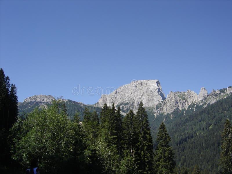 Bergspitze in Österreich lizenzfreies stockfoto