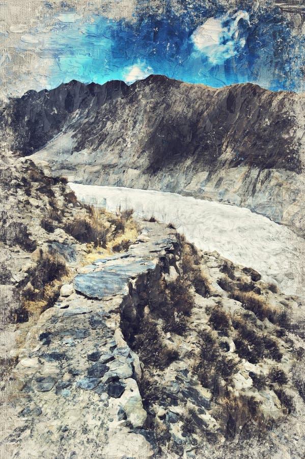 Bergspitze auf dem Weg zu passu Gletscher, Hunza-Tal, Norther lizenzfreies stockbild