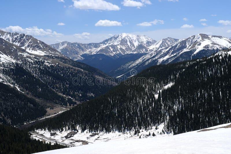 Bergspitzen stockbilder