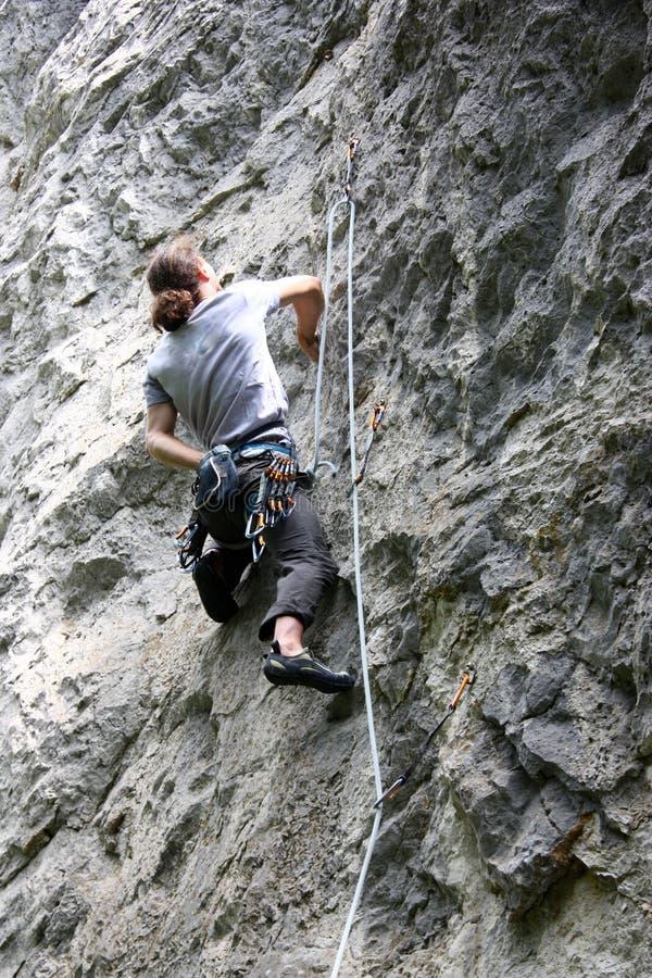 Bergsteiger stockfotos