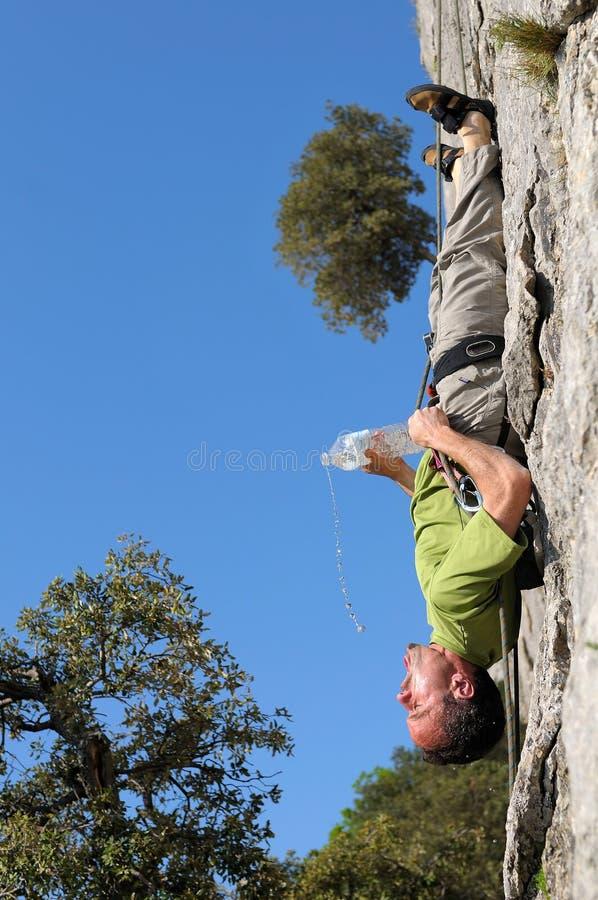 Bergsteiger-sieben stockbild