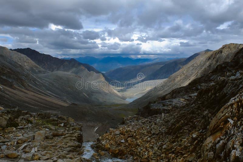 Bergvidder royaltyfria foton