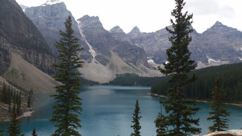 Bergvoorzijde stock foto's